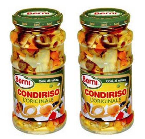 Berni Condiriso L'originale (Marinated Vegetables) for Risotto or Any Rice Dish 2 Pack