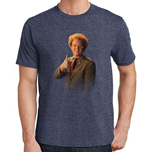 Dr. Steve Brule Mens T-Shirt 1036 (2X-Large,Heather Navy) (Best Of Steve Brule)