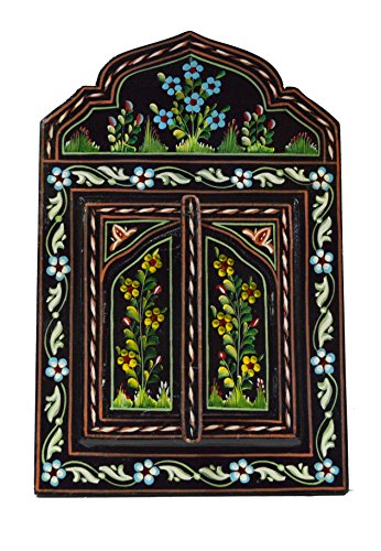 Moroccan Wall Mirror With Doors  Arabesque