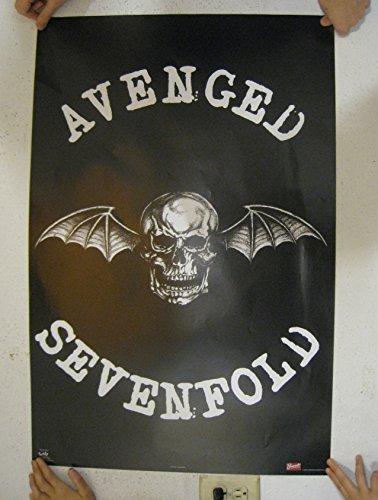 Avenged Sevenfold Winged Skull Music Poster Print