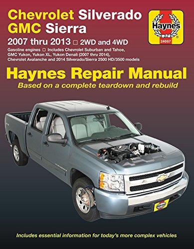 (Chevrolet Silverado & GMC Sierra/Sierra Denali (1500), Silverado & GMC Sierra (2500 HD & 3500), Avalanche, Suburban, Tahoe, Yukon/Yukon XL & Yukon ... with rear-wheel steering (Haynes)
