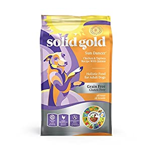 Solid Gold - Sun Dancer - Grain-Free - Natural Chicken - High Protein - Adult Dog Food for All Life Stages 24 lb 88
