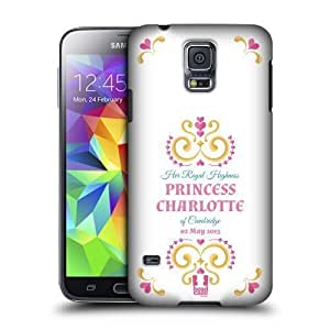 Betty S. Simmons's Shop New Style 3599605M32164964 Head Case Designs Her Royal Highness Princess Charlotte Protective Snap-on Hard Back Case Cover for Samsung Galaxy S5