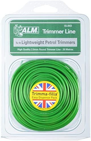 Trimmer Line 2.0mm 20m To fit all makes of lightweight petrol trimmers contains 20 metres Green 16-22cc