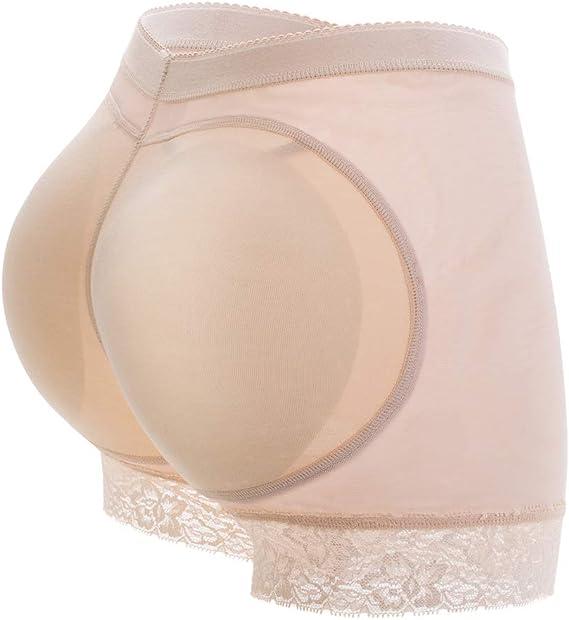 MISS MOLY Dona Mutande Imbottite Push up Glutei Elastica Traspirante Invisibile Underwear