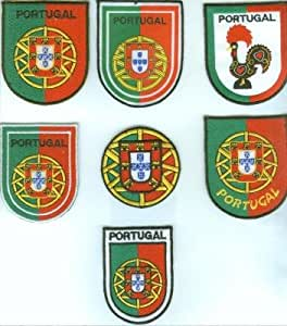 Amazon.com : Portugal Assorted (Escudo) - Emblemas