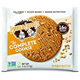 Lenny & Larry's The Complete Cookie, Peanut Butter, 4 Ounce Cookies - 12 Count, Soft Baked, Vegan and Non GMO Protein Cookies