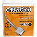 Micro CritterCord citrus cord cable protector 6 ft for rabbits cats dogs pets up to 18 guage