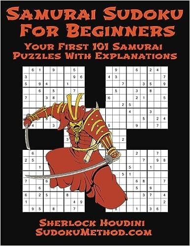 Samurai Sudoku Beginners book