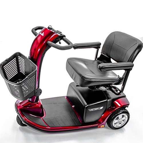 Victory 9 Pride 3 Wheel Electric Scooter Sc609 Red