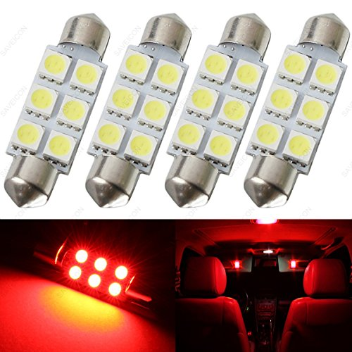 Red Led Dome Light Bulb in US - 8