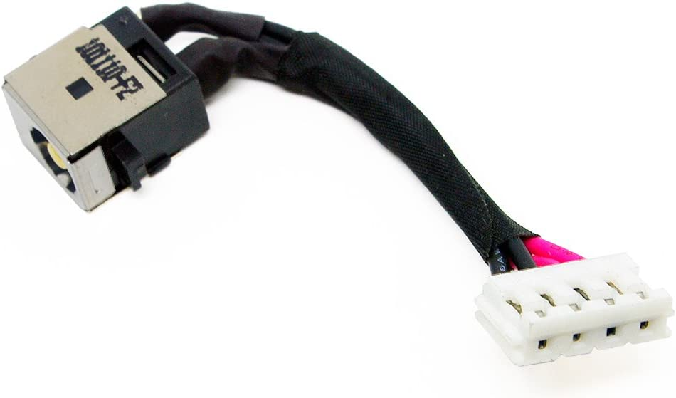 DC Power Jack W//Cable Charging Port For Toshiba Satellite E45-B E45T-B Series