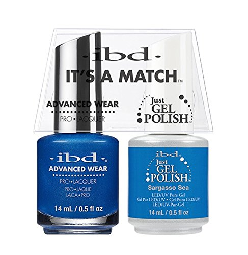 ibd Advanced Wear Color Duo Sargasso Sea #545 UV Gel Color