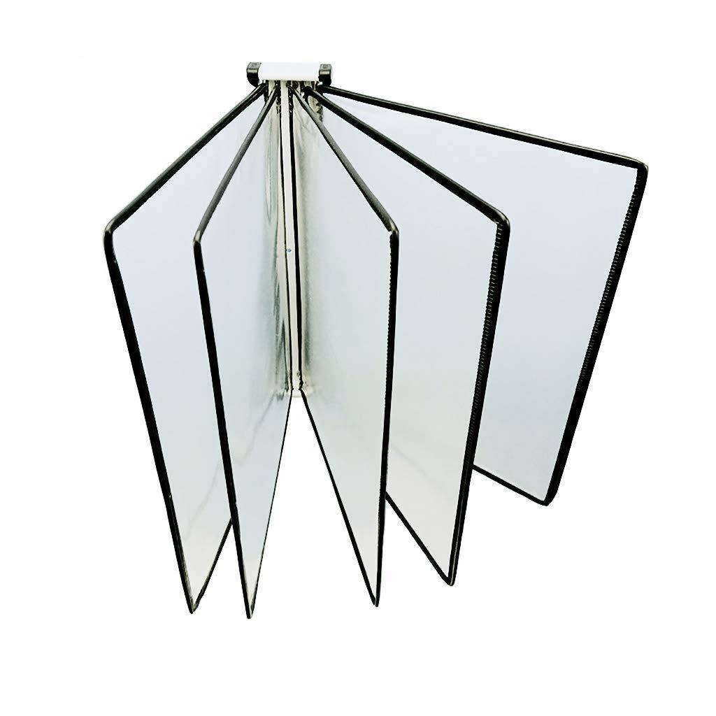 Flip File Holder, Wall-Mounted Magnetic Display (PVC+Metal) 332310CM