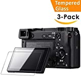 Glass Screen Protector Compatible Sony Alpha A6000 A5000 A6300 NEX-7 NEX-3N...