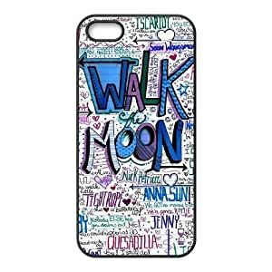 Custom Case Cover for iPhone 5,iPhone 5s w/ walk the moon image at Hmh-xase (style 12) by waniwa