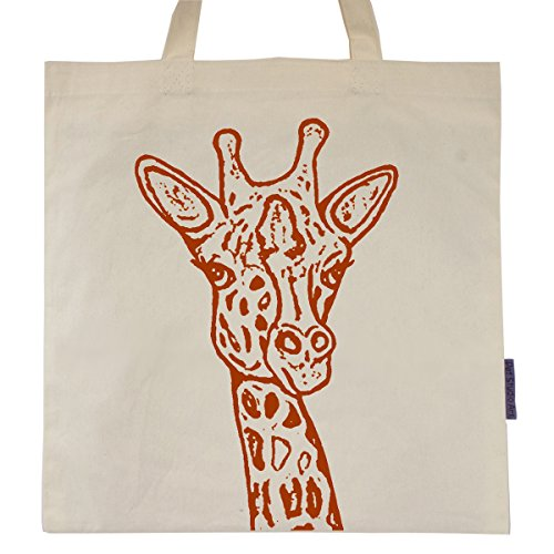 Animal Tote Bags - The Giraffe Tote Bag