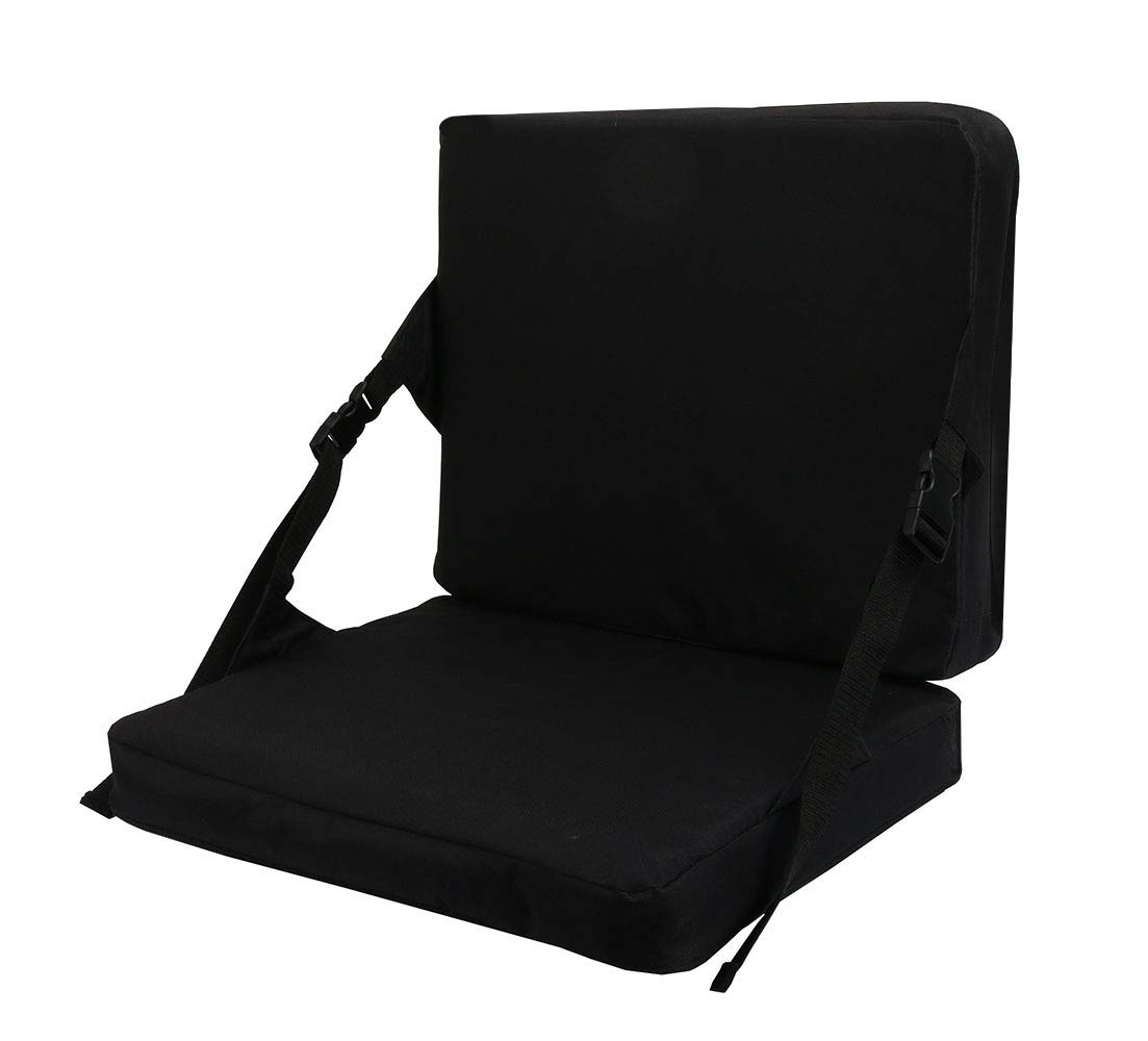 Square Stadium Mat Xiaozxwlhq Stadium Seat Cushion Chair Bench Bleachers with Back Support
