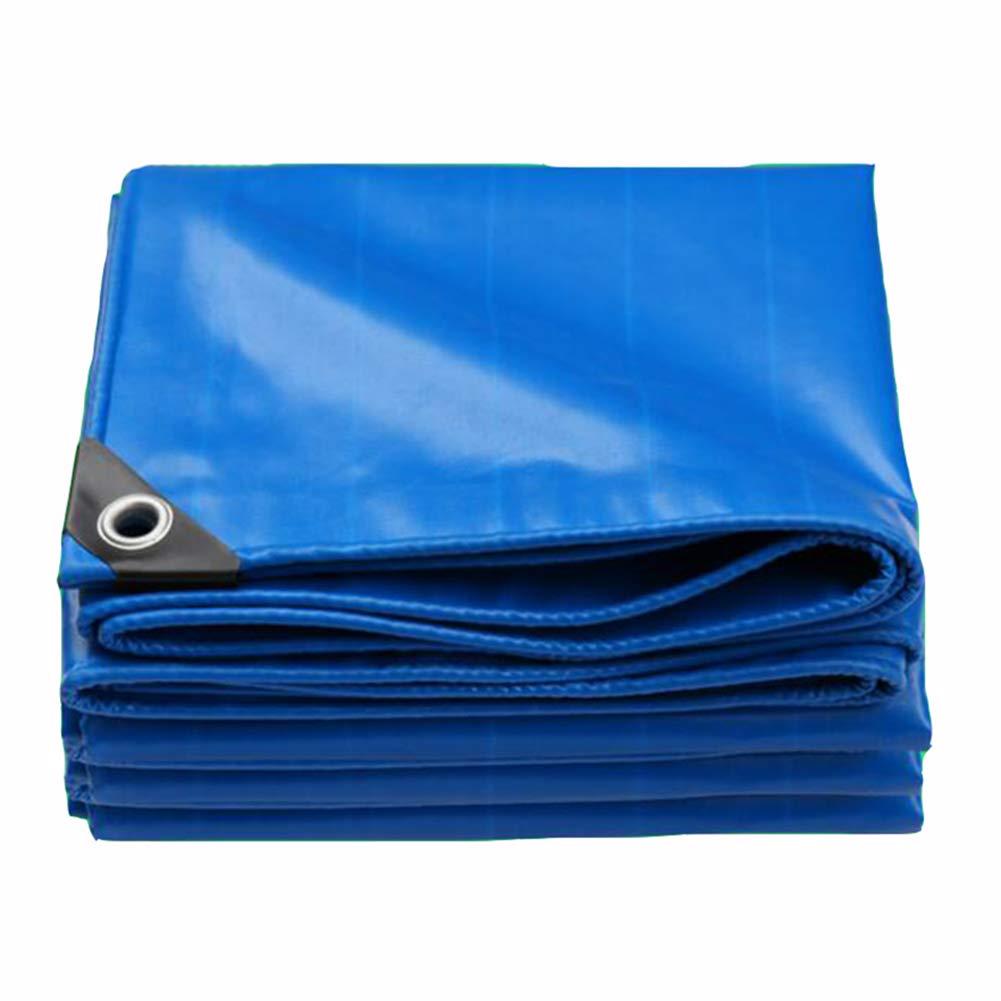 DALL ターポリン 厚い タープ 防雨布 日焼け止め 防塵 様々なサイズ 不凍液 (色 : 青, サイズ さいず : 3×4m) 3×4m 青 B07KXFKLXF