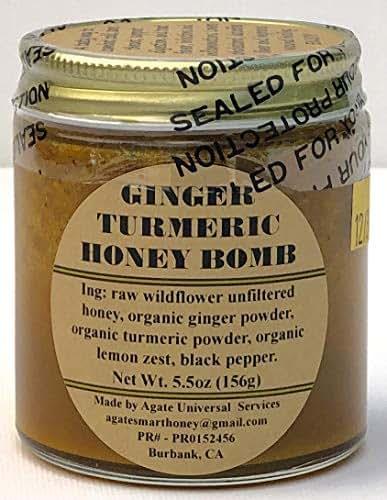 GINGER TURMERIC HONEY BOMB 5.5oz.
