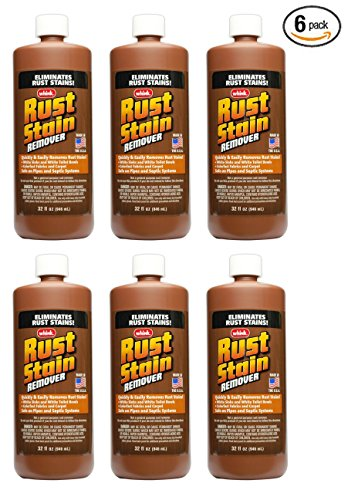 Rust Stain - Rust Stain Remover- 6 Pack