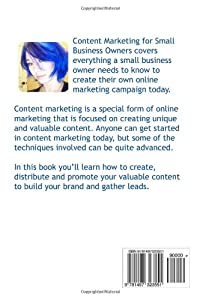 Content Marketing for Small Business Owners from CreateSpace Independent Publishing Platform