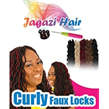 X2 Double Pack: Crochet Curly Black Faux Locks, Dreadlocks. Dread Locs braids
