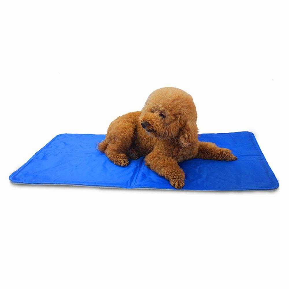 Aspicture LargeFUBULECY Pet Ice Pad Sleeping Pad Cat Kennel Dog Mat (color, Size   L)