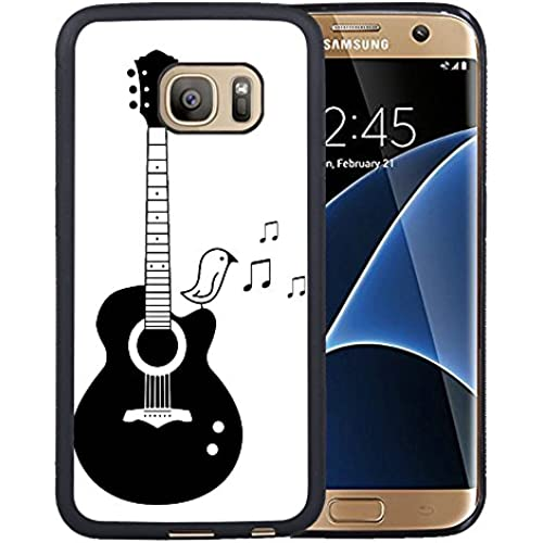 Galaxy S7 Edge Case,Perfect Music Notes Theme Samsung Galaxy S7 Edge Case Cover - TPU Black Sales