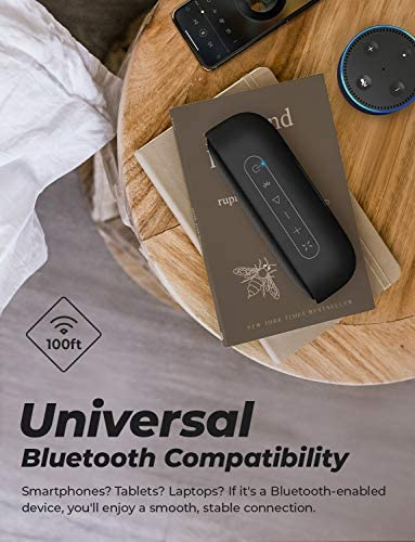Tribit MaxSound Plus Portable Bluetooth Speaker, 24W Wireless Speaker with Powerful Louder Sound, Exceptional XBass, IPX7 Waterproof, 20-Hour Playtime, 100ft Bluetooth Rang for Party, Travel, Outdoor