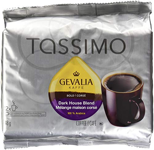 Gevalia 12 T Discs -Bold Dark House Blend (148g / 5.22oz) Made in Canada