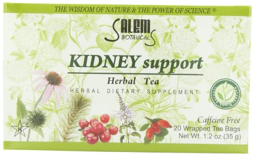 Salem Botanicals Herbal Tea, Kidney Support, 20 Count