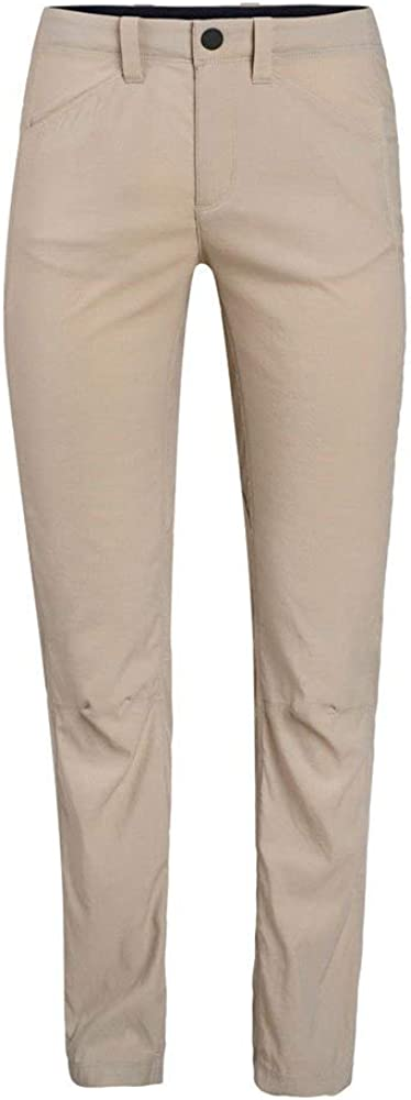 Icebreaker Merino Women's Persist Hiking Pants, Soft, Breathable, Moisture Wicking British Tan Beige
