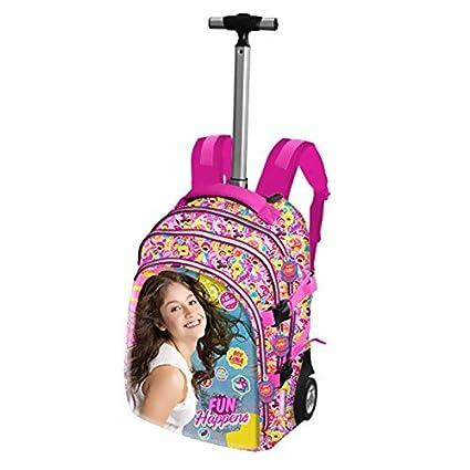 Soy Luna - Bolsa escolar rosa: Amazon.es: Equipaje