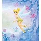 Blue Mountain Wallcoverings DMM2509WM Tinker Bell Self-Stick Mini Wall Mural