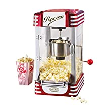 Nostalgia RKP630 Retro Kettle Popcorn Maker, Red