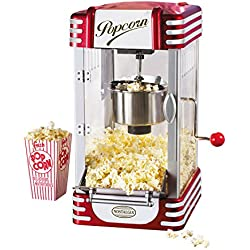Nostalgia RKP630 Retro 2.5-Ounce Kettle Popcorn Maker