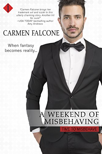 Alice needs her job as a nanny — so when her boss catches her skinny-dipping, she's terrified she'll be fired. Instead, he proposes a fake engagement, and the two can't resist some steamy misbehavior along the way…  A Weekend Of Misbehaving by Carmen Falcone
