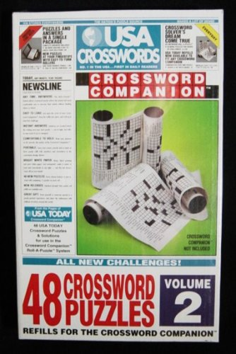 USA Crosswords Volume 2 Refill For The Crossword Companion