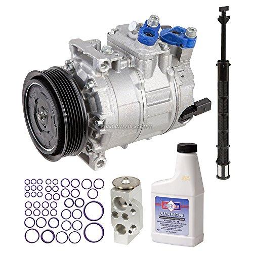 Volkswagen Passat Ac Compressor (New AC Compressor & Clutch With Complete A/C Repair Kit For VW Volkswagen Passat - BuyAutoParts 60-80382RK New)