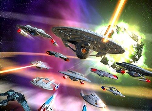 001 Star Trek Armada 2 33x24 inch Silk Poster Aka Wallpaper Wall Decor By NeuHorris