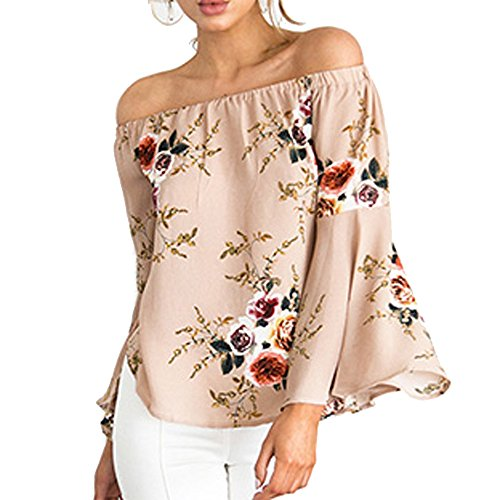relipop-womens-casual-floral-off-shoulder-bell-sleeve-chiffon-blouse-shirt-tops-medium-beige