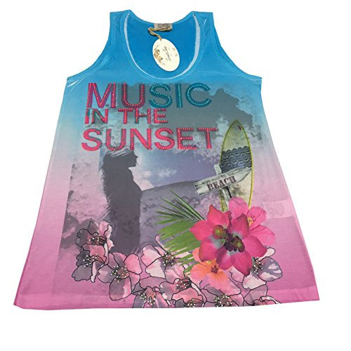 Subliminale By Music Twenty Canotta In Easy Stampa Made Kaos Italy xYfqxAwa