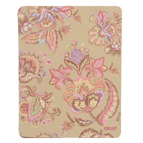 Oilily Summer Flowers iPad 2 & 3 Cover Sand