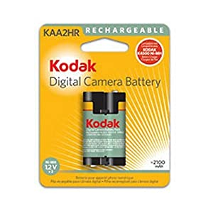 Kodak KAA2HR Ni-MH Rechargeable Digital Camera Battery