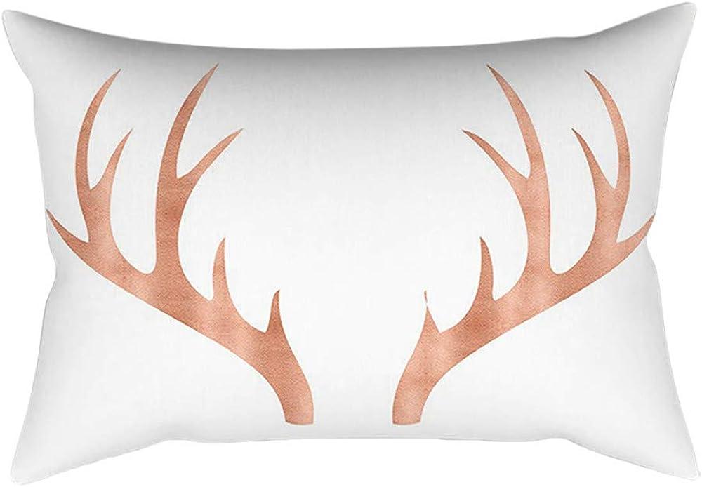 Tropical Feuilles Housse de Coussin Taie d/'oreiller Cushion Cover Canapé Décor