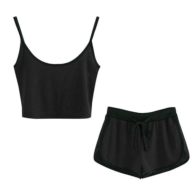 Amazon.com: Boho Casual - Conjunto de pantalones cortos y ...