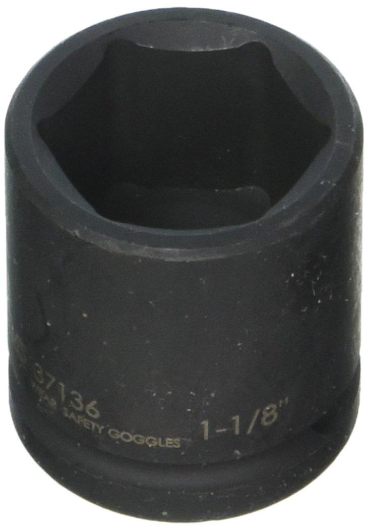 Williams 37136 1 / 2インチドライブShallow Impactソケット、6ポイント、1 – 1 / 8インチ B007YRCQ7W
