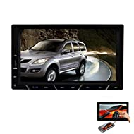 Android 4.4 Car Video Player 2 Din 7 pouces voiture st¨¦r¨¦o HD capacitive ¨¦cran tactile au tableau de bord de la t¨¦l¨¦vision Bluetooth Radio Car Audio Video Player Soutien WIFI analogique