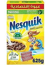 Nesquik Nestle Chocolate Breakfast Cereal 625g, (Pack of 1)
